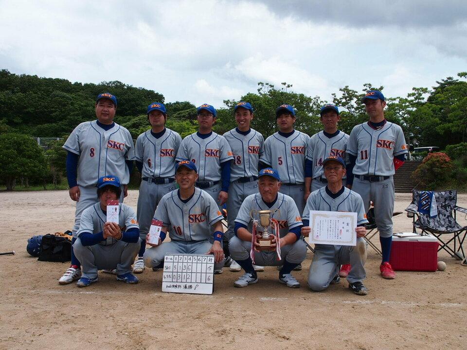 優勝の「島根環境保全センター」チーム